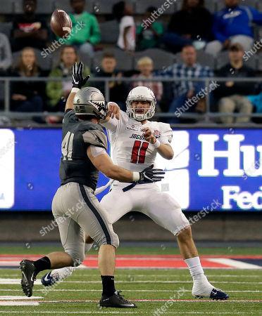 Editorial image of Arizona Bowl Football, Tucson, USA - 30 Dec 2016