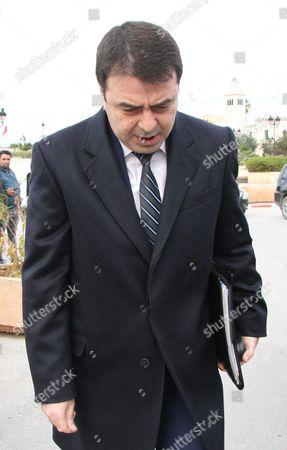 Tunisian Interior Minister Hedi Majdoub