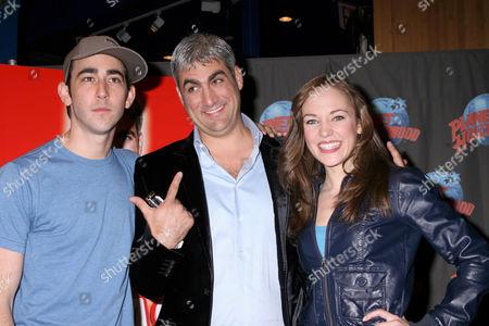 Max Crumm, Taylor Hicks, Laura Osnes