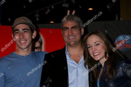 Stock Photo of Max Crumm, Taylor Hicks, Laura Osnes