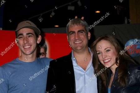 Stock Picture of Max Crumm, Taylor Hicks, Laura Osnes