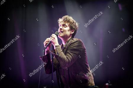 Paulo Nutini performs at the bandstand in Edinburgh's Princess Street Gardens as part of Edinburgh's Hogmanay celebrations