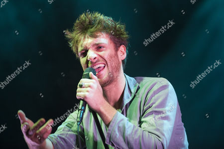 Stock Picture of Paulo Nutini performs at the bandstand in Edinburgh's Princess Street Gardens as part of Edinburgh's Hogmanay celebrations