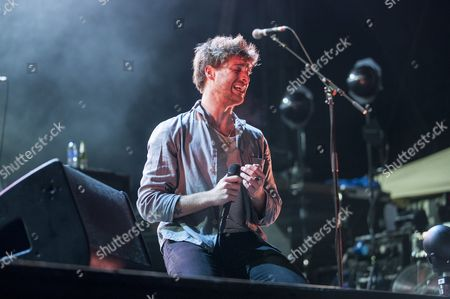 Editorial photo of Paulo Nutini in concert, Edinburgh, Scotland, UK - 31 Dec 2016