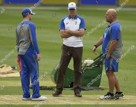 Steve Smith, Greg Chappell and Darren Lehmann
