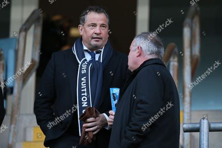 Stock Photo of Dean Holdsworth during the Sky Bet League One match between Coventry City and Bolton Wanderers played at the Ricoh Arena, Coventry on 2nd January 2017