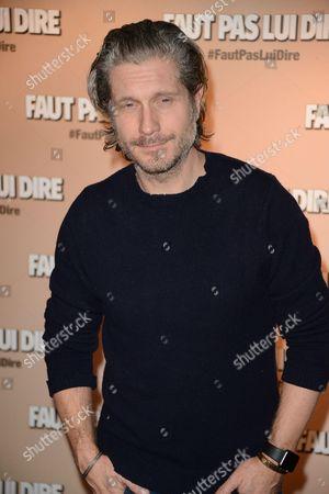 Editorial image of 'Faut pas Lui Dire' film premiere, Paris, France - 02 Jan 2017
