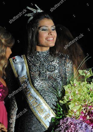 Editorial photo of Lebanon Miss World - Jul 2012