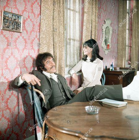 'Department S' - 'Les Fleurs Du Mal' -  Peter Wyngarde and Joanna Marie Jones