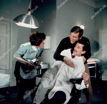 'Department S' - A Ticket to Nowhere - TV - 1969 - Rosemary Nicols, Joel Fabiani, Michael Gwynn