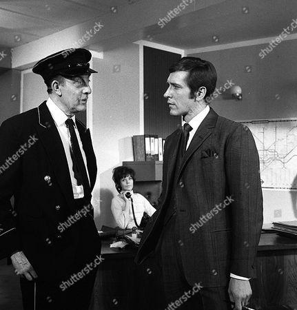 'Department S' - Last Train to Redbridge - TV - 1969 - Frank Forsyth, Rosemary Nicols, Joel Fabiani