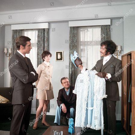 'Department S' - The Ghost of Mary Burnham - TV - 1969 - Joel Fabiani, Rosemary Nicols, Donald Houston, Peter Wyngarde