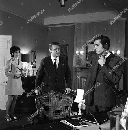 'Department S' - The Ghost of Mary Burnham - TV - 1969 - Rosemary Nicols, Donald Houston, Joel Fabiani