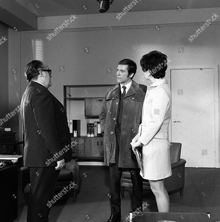 Stock Picture of 'Department S' - The Perfect Operation - TV - 1969 - Ronald Radd, Joel Fabiani, Rosemary Nicols