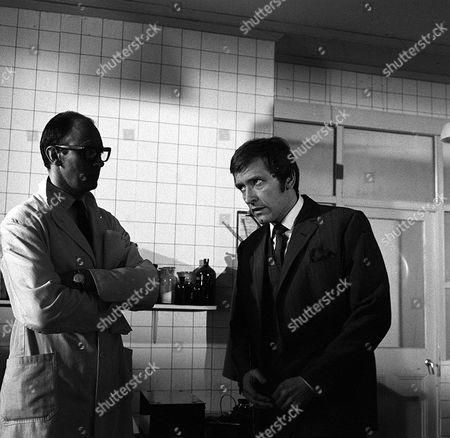 'Department S' TV - 1970 - Spencer Bodily Is Sixty Years Old Garfield Morgan,Joel Fabiani