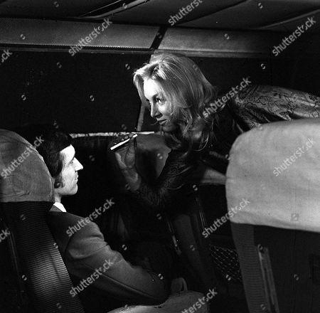 'Department S' - TV - The Bones of Byron Blaine - 1970 - Joel Fabiani, Katherine Schofield