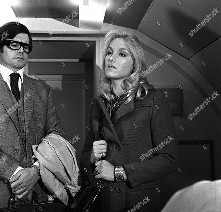 'Department S' - TV - The Bones of Byron Blaine - 1970 - Katherine Schofield