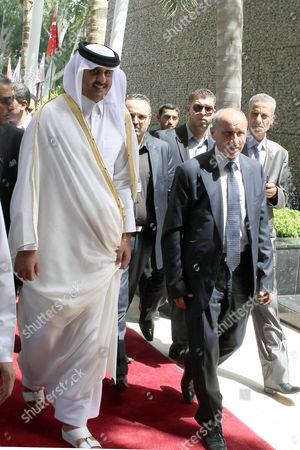 Editorial picture of Libya Qatar Diplomacy - Jul 2012