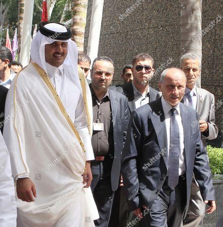Editorial photo of Libya Qatar Diplomacy - Jul 2012