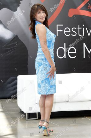 Us Actress Hunter Tylo of the Tv Series 'The Bold and the Beautiful' Poses During a Photocall at the Monte Carlo Television Festival in Monaco 12 June 2012 Monaco Monte Carlo