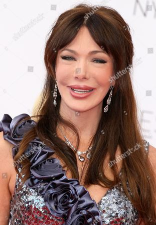 Stock Image of Us Actress Hunter Tylo of the Tv Series 'The Bold and the Beautiful' Attends the Closing Award Ceremony of the Monte Carlo Television Festival in Monaco 14 June 2012 Monaco Monte Carlo