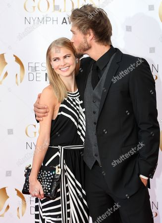 Us Actor Chad Michael Murray (r) and Fiancee Kenzie Dalton (l) Attend the Closing Award Ceremony of the Monte Carlo Television Festival in Monaco 14 June 2012 Monaco Monte Carlo