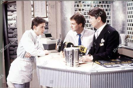 'Crossroads'   TV   Series 1 Glynn Pritchard, Steven Pinder and Graham Seed