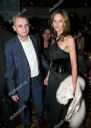 Stock Photo of Trinny Woodall and husband Johnnie Elichaoff