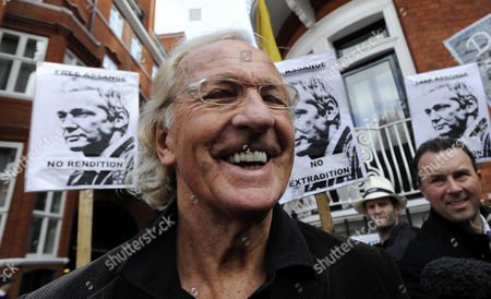 Australian Broadcaster and Journalist John Pilger Arrives at the Ecuador Embassy where Wikileaks Founder Has Sought Political Asylum in London Britain 22 June 2012 Julian Assange Remains Inside the Ecuadorean Embassy After Three Nights Assange 40 Faces Extradition to Sweden on Allegations of Sexual Assault After Britain's Supreme Court Rejected His Final Appeal Last Week a 10-day Period of Extradition Begins on June 28 His Arrival at the Embassy was Confirmed 19 June by Ricardo Patino Ecuador's Foreign Minister in Quito He Said Assange an Australian Citizen Had Requested Political Asylum Epa/facundo Arrizabalaga United Kingdom London