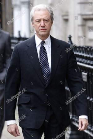 Stock Photo of Barclays Chairman Marcus Agius Arrives the Treasury Select Committee to Give His Evidence in London Britain 10 July 2012 Agius Will Be Quizzed by Members of Parliament in the Wake of the Libor Interest Rate-fixing Scandal United Kingdom London