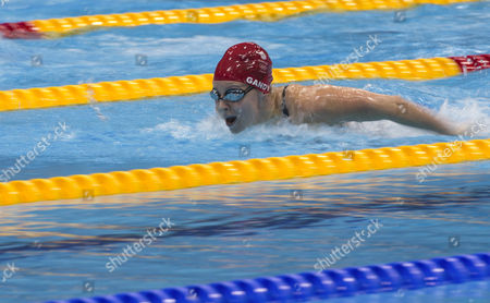 Ellen Gandy of Great Britain Competes in the Women's 200m Butterfly Heats During the Swimming Competition Held at the Aquatics Center During the London 2012 Olympic Games in London Britain 31 July 2012 United Kingdom London