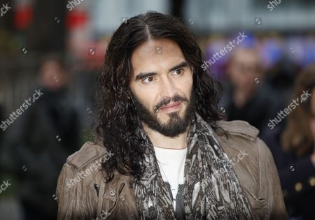 Russel Brand Arrives For the European Premier of Rock of Ages at the Odeon Theatre in London Britain 10 June 2012 United Kingdom London