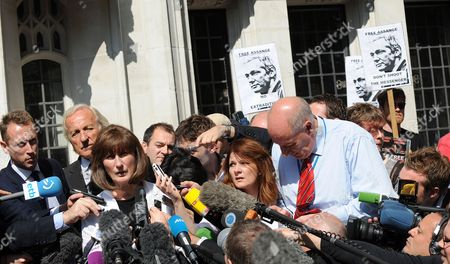 Editorial photo of Britain Wikileaks Assange Trial - May 2012