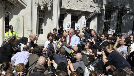 Editorial picture of Britain Wikileaks Assange Trial - May 2012