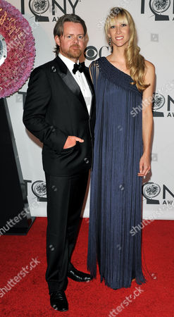 Stock Photo of Theater Producer Patrick Milling Smith (l) and His Fiancee Lavinia Mitchell Arrive For the 2012 Tony Awards at the Beacon Theatre in New York New York Usa 10 June 2012 the Annual Awards Honor Excellence in Broadway Theatre United States New York
