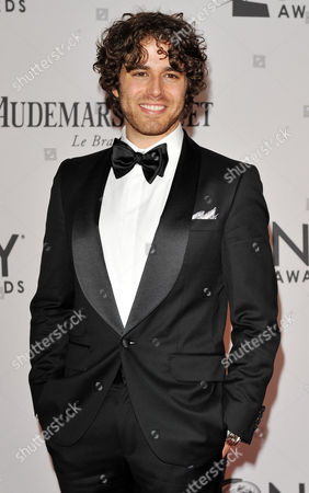 Actor Josh Young of the Us Arrives For the 2012 Tony Awards at the Beacon Theatre in New York New York Usa 10 June 2012 the Annual Awards Honor Excellence in Broadway Theatre United States New York