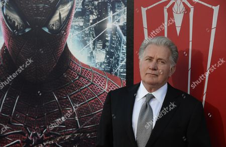 Stock Image of Us Actor Martin Sheen who Plays the Part of Uncle Ben Parker Arrives For the Amazing Spider-man Premiere in Westwood Los Angeles California Usa 28 June 2012 United States Los Angeles