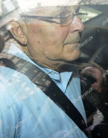 Stock Photo of Peter Madoff is Driven to Federal Court After Being Arrested by Fbi Agents in New York New York 29 June 2012 Peter Madoff the Younger Brother of Ponzi Scheme Mastermind Bernard Madoff was Arrested at His Lawyer's Manhattan Office 29 June and is Expected to Plead Guilty Later to Securities Fraud United States New York
