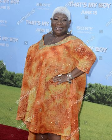 Us Actress and Cast Member Luenell Campbell Arrives For the World Premiere of 'That's My Boy' in Los Angeles California Usa 04 June 2012 United States Los Angeles