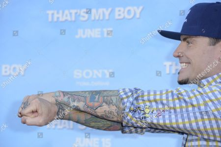 Us Singer Actor and Cast Member Robert Van Winkle Aka Vanilla Ice Arrives For the World Premiere of 'That's My Boy' in Los Angeles California Usa 04 June 2012 United States Los Angeles