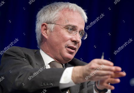 Ceo of Standard Chartered Peter Sands Takes Part in a Panel Discussion on Financial Inclusion During the 2012 Spring Meetings at the World Bank Headquarters in Washington Dc Usa 19 April 2012 the 2012 Imf Wb Spring Meetings Run Through Sunday 22 April 2012 United States Washington