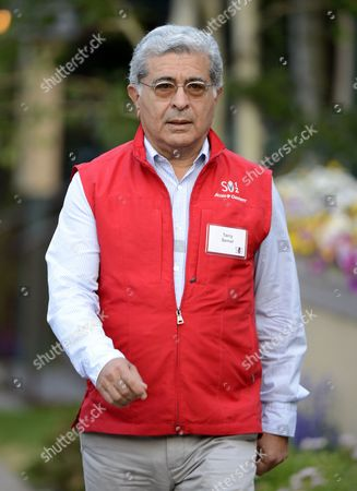 Stock Picture of Terry Semel Former Chairman and Ceo of Yahoo! Inc Attends Day Three of the Allen & Company's 30th Annual Media and Technology Conference in Sun Valley Idaho Usa 12 July 2012 the Event Brings Together the Leaders of the Worlds of Media Technology Sports Industry and Politics United States Sun Valley