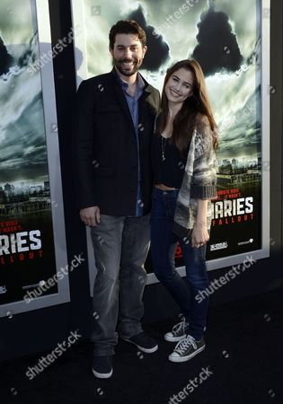 Us Actor Micah Sloat (l) and Us Actress Alix Gitter (r) Arrive For the Special Fan Screening of 'Chernobyl Diaries' in Hollywood California Usa 23 May 2012 'Chernobyl Diaries' is the Story of a Group of Young Vacationers who Explore the City of Pripyat the Former Home of the Workers of the Chernobyl Nuclear Reactor Only to Discover That They Are not Alone United States Hollywood