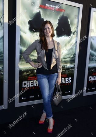 Us Actress Katie Featherston Arrives For the Special Fan Screening of 'Chernobyl Diaries' in Hollywood California Usa 23 May 2012 'Chernobyl Diaries' is the Story of a Group of Young Vacationers who Explore the City of Pripyat the Former Home of the Workers of the Chernobyl Nuclear Reactor Only to Discover That They Are not Alone United States Hollywood
