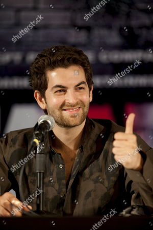 Bollywood Film Star Neil Nitin Mukesh Speaks to the Press at the Launch of the Movie 'Jail' On the Second Day of the International Indian Film Academy (iifa) Awards Weekend at the Venetian Casino Resort in Macau China 12 June 2009 the Iifa Awards Are Often Referred to As the Bollywood Oscars Celebrating the International Nature of Indian Cinema This Marks the 10th Year of the Awards Which Are Held in a Different Country Each Year