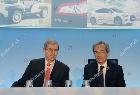 Editorial photo of France Auto Psa - Feb 2011