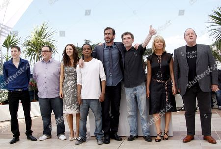British Actors Gerard Kearns Justin Moorhouse Lucy-jo Hudson Stefan Gumbs French Actor and Former Football Player Eric Cantona British Actors Steve Evets Stephanie Bishop and Actor John Henshaw Attend the Photocall For the Film 'Looking For Eric' Running in Competition in the 62nd Edition of the Cannes Film Festival in Cannes France 18 May 2009
