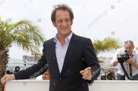French Actor Vincent Lindon Poses During the Photocall For 'Pater' at the 64th Cannes Film Festival in Cannes France 18 May 2011 the Movie by French Director Alain Cavalier is Presented in the Official Competition of the Film Festival Running From 11 to 22 May France Cannes