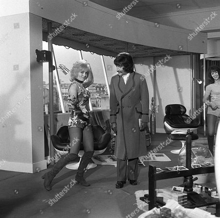 'Jason King'  - 'A Page Before Dying' - Jenny Lee Wright  and Peter Wyngarde