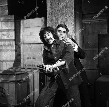 'Jason King'  - 'As Easy as A.B.C' - Peter Wyngarde and Nigel Green